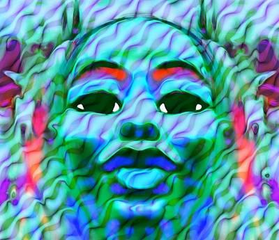 Oshun Wall Art - Digital Art - Goddess Oshun 2 by Devalyn Marshall