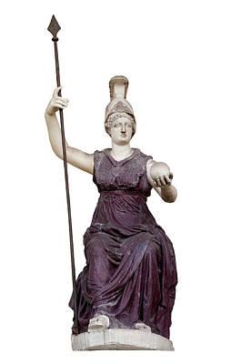 Capitoline Photograph - Goddess Roma Triumphans by Fabrizio Troiani