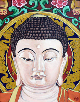 Painting - Goddess Tara by Tom Roderick