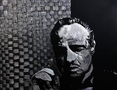 Godfather Art Print by Jeremy Moore