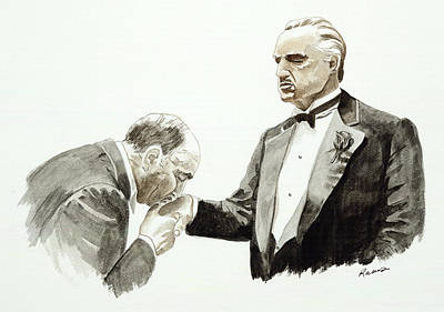 Refuse Painting - Godfather by Timothy Ramos