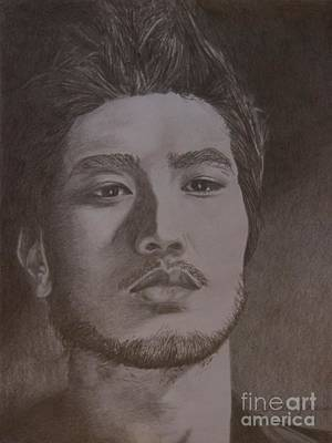 Drawing - Godfrey Gao by Lorelle Gromus