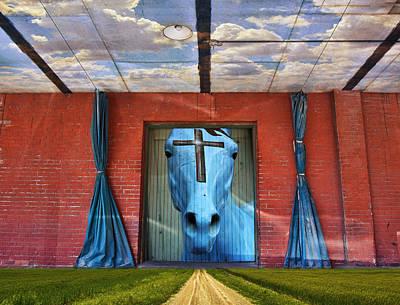 Composite Photograph - Godhead by Skip Hunt