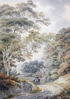 England Drawing - Godinton, Near Ashford, Kent by Michael Rooker