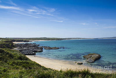 Photograph - Godrevy Beach by Brian Roscorla