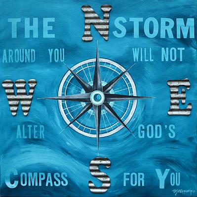 Painting - God's Compass by Patti Schermerhorn