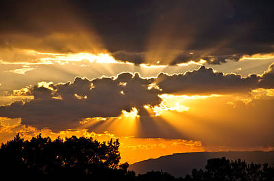 Photograph - God's Country Sunset by Eric Rundle