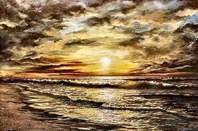 Painting - God's Glory by Lynne Wright