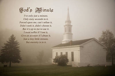 Photograph - God's Minute by Dale Kincaid