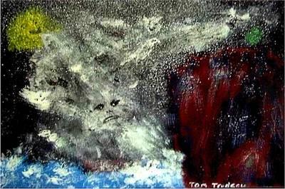 Zeus Mixed Media - Gods Of The Grecian Storm by Tommi Trudeau