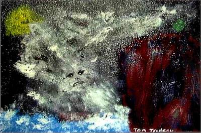 Gods Of The Grecian Storm Art Print by Tommi Trudeau