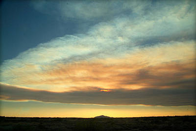 Visual Creations Photograph - God's Pastels.. by Al  Swasey