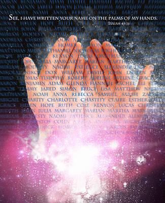 Robert Duvall Digital Art - God's Promise by Robert Duvall