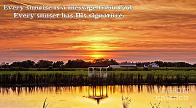God's Signature Art Print