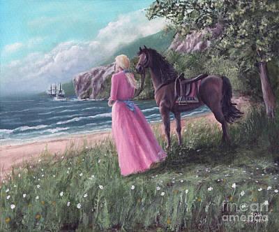 Horse Painting - Godspeed by Bretislav Stejskal