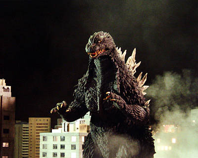 Monsters Photograph - Godzilla, King Of The Monsters!  by Silver Screen