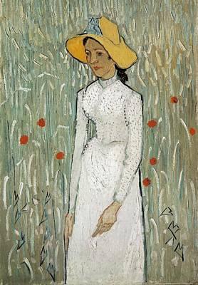 Gogh, Vincent Van 1853-1890. Girl Art Print by Everett