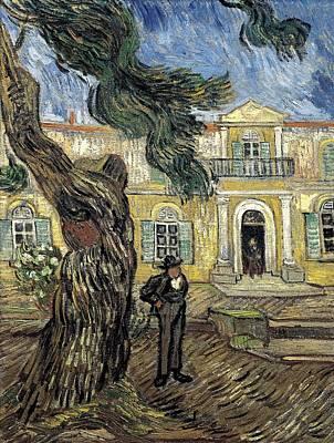 Gogh, Vincent Van 1853-1890. Hospital Art Print