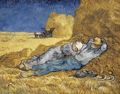 Gogh, Vincent Van 1853-1890. Noon, Or Art Print