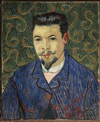 Gogh, Vincent Van 1853-1890. Portrait Art Print