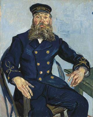 Gogh, Vincent Van 1853-1890. Postman Art Print by Everett