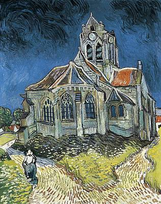 Gogh, Vincent Van 1853-1890. The Church Art Print by Everett