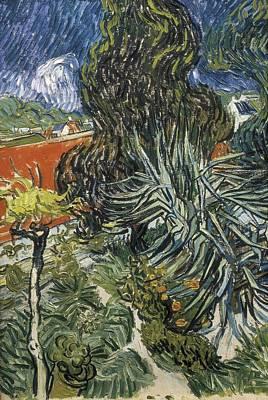 Gogh, Vincent Van 1853-1890. The Garden Art Print by Everett