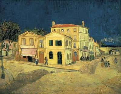 Gogh, Vincent Van 1853-1890. The Yellow Art Print