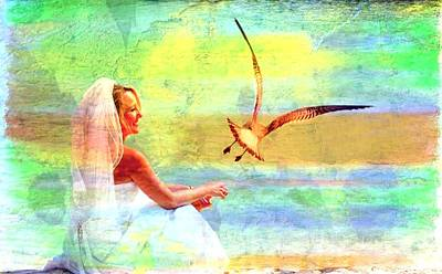 Digital Art - Goin To The Chapel by Carrie OBrien Sibley