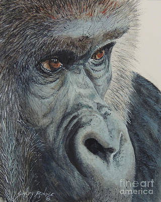 Painting - Going Ape...sold  by Sandy Brindle
