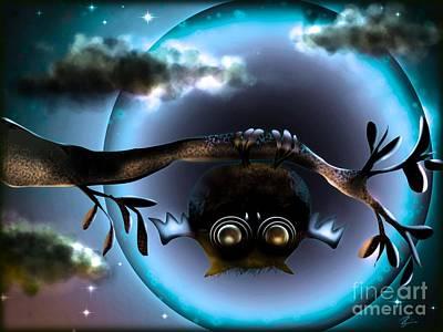 Digital Art - Going Batty by J Kinion