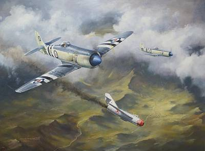 Painting - 'going Down' by Colin Parker