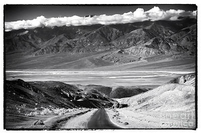 Photograph - Going Down In Death Valley by John Rizzuto