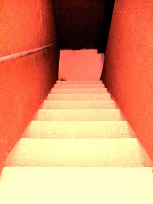 Going Down Red Original by Dietmar Scherf