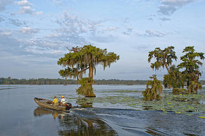 Cypress Swamp Photograph - Going Fishing by Bonnie Barry