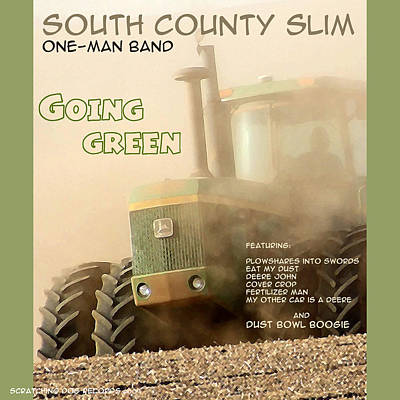 Photograph - Going Green - South County Slim by Everett Bowers