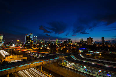 Photograph - Going Home In Tel Aviv by David Morefield