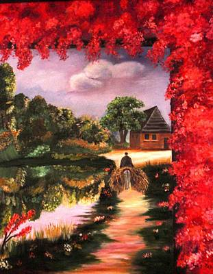 Going Home Original by Janis  Tafoya