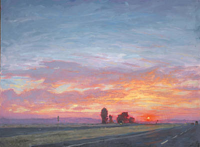 Painting - Going Home by Michael Orwick