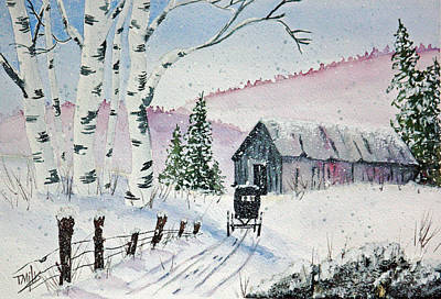 Painting - Going Home by Terri Mills