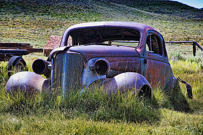 Chev Photograph - Going Nowhere by Kelley King