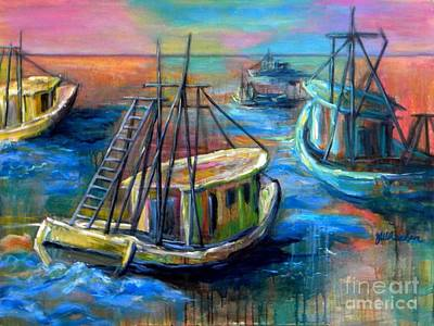 Painting - Going Out by JoAnn Wheeler