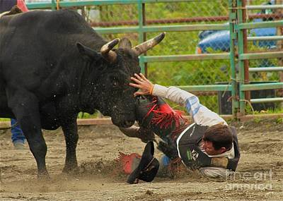 Bull Riders Photograph - Going To Hurt by Rick  Monyahan