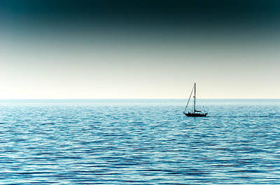 Gaugin Rights Managed Images - Going to Sail Away Royalty-Free Image by Todd Heckert