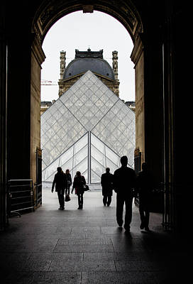 Photograph - Going To The Louvre by Georgia Mizuleva