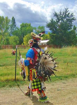 Photograph - Going To The Pow Wow by Marilyn Diaz