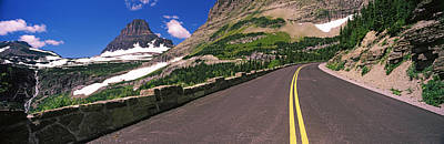 Going-to-the-sun Road At Us Glacier Print by Panoramic Images