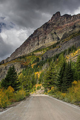 Photograph - Going To The Sun Road by Greg Nyquist