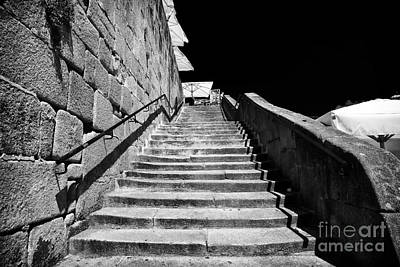 Going Up In Porto Print by John Rizzuto