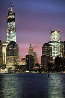 1 Wtc Photograph - Going Up by JC Findley